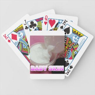 Baby Skin Lotion Bicycle Playing Cards