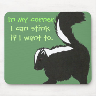 Baby Skunk Mousepad