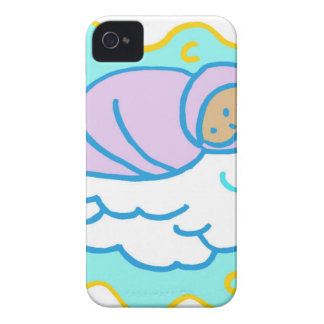 Baby Sleeping Drawing iPhone 4 Cover