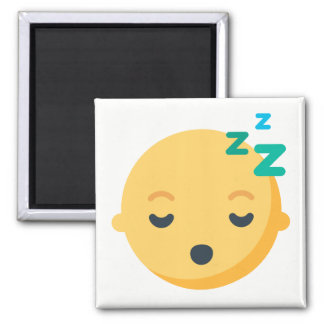 Baby Sleeping Emoji Magnet