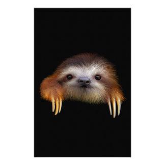 Baby Sloth Stationery