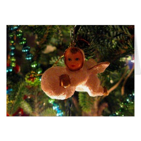 Baby-Snow-Angel Card