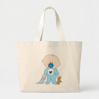 Baby Soother Boy Bag