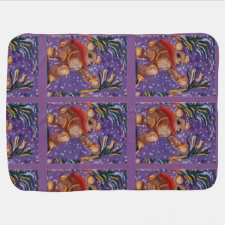baby Spirit Art Work Baby Blanket