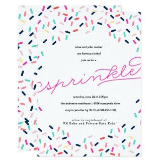 BABY SPRINKLE CONFETTI INVITATION