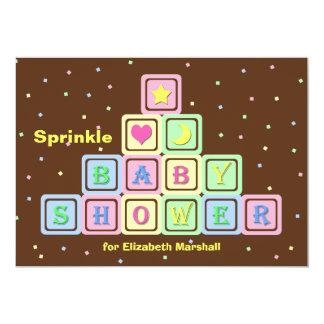 Baby Sprinkle Invitation -- Gender Neutral Shower