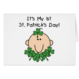 Baby St Patrick s Day Card