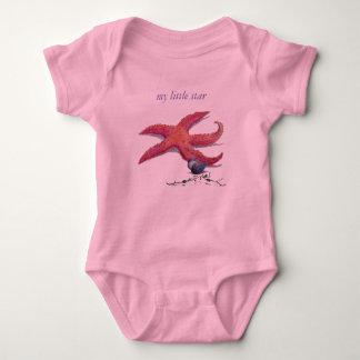 baby  starfish baby bodysuit