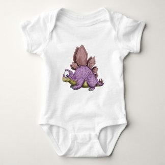 Baby Stegosaurus Baby Bodysuit