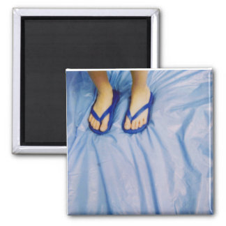baby steps square magnet