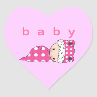 Baby Stickers Polkadot Baby