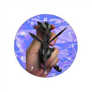 Baby Sugar Gliders Clock