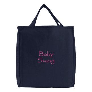 Baby Swag Embroidered Bag