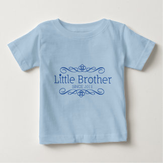 Baby T-shirt- Little Brother since 2011 Baby T-Shirt