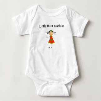 "Baby T-shirt ""Little measure sunshine """