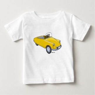 Baby t-shirt with image Citroën D staircase car