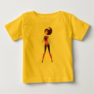 Baby t-shirt with Super hero illustration