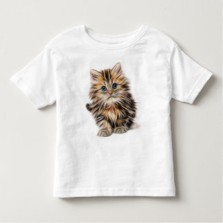 Baby Tabby Kitten Toddler Fine Jersey T-Shirt
