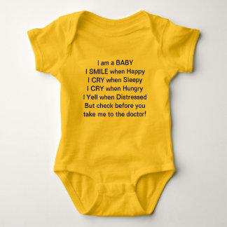 Baby Talk Baby Bodysuit