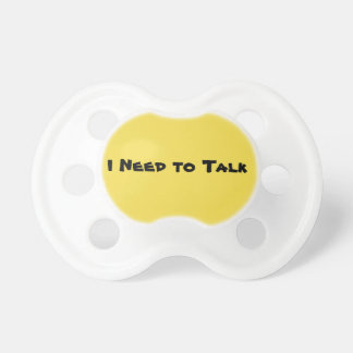 Baby Talk (Customisable) Dummy