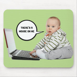 Baby Talk Customize Mouse Pad