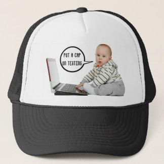 Baby Talk Customize Trucker Hat
