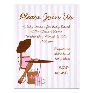 Baby Tea 11 Cm X 14 Cm Invitation Card