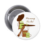 Baby Tea Pinback Button