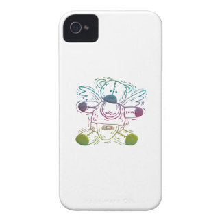 Baby Teddy-bear Angel iPhone 4 Case-Mate Cases