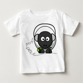 Baby  Tee with Sheep Print