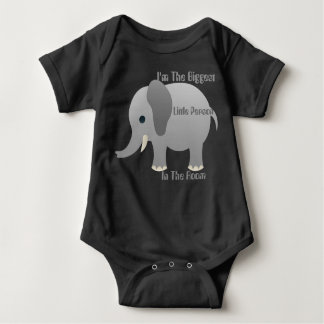 Baby The Biggest Little Person Jersey Bodysuit
