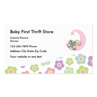 Baby Thrift Store Pack Of Standard Business Cards