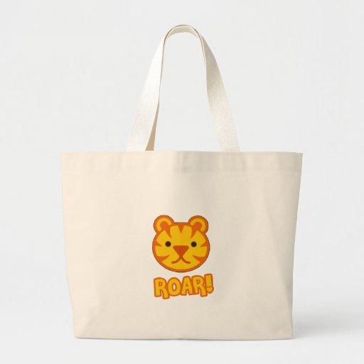 Baby Tiger Cartoon Tote Bag