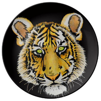 BABY TIGER PLATE