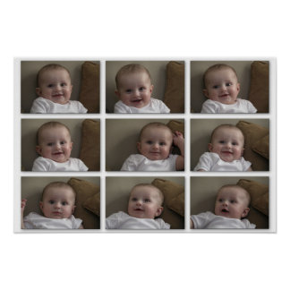 Baby Tiles Poster