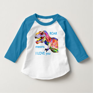 Baby Toddler Dinosaur T-Rex Shirt