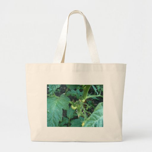 Baby Tomatoes on tree Tote Bags