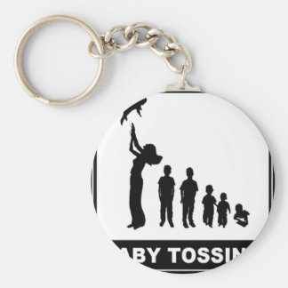 BABY TOSSING KEY CHAINS