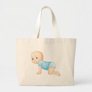 baby jumbo tote bag
