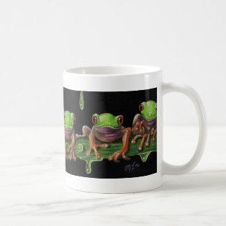 Baby Tree Frogs Basic White Mug