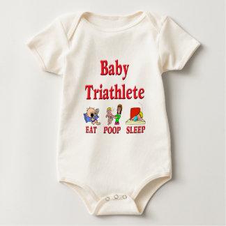 Baby Triathlete Baby Bodysuit