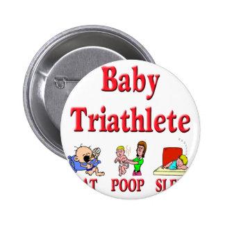 Baby Triathlete Pins