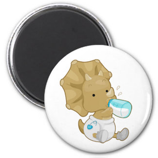 Baby Triceratops Magnet