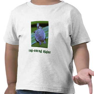 baby turtle, red-eared slider t shirt