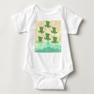 Baby Turtles Baby Bodysuit