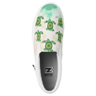 Baby Turtles Slip-On Shoes