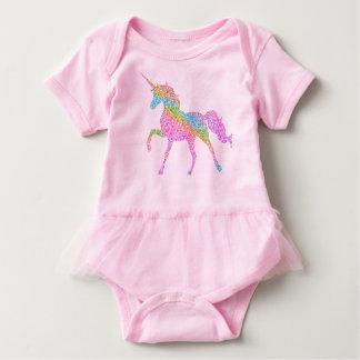 Baby Tutu Bodysuit -  Rainbow Unicorn