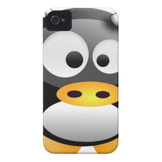 Baby Tux cow Case-Mate iPhone 4 Cases