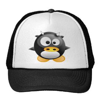 Baby Tux cow Mesh Hat