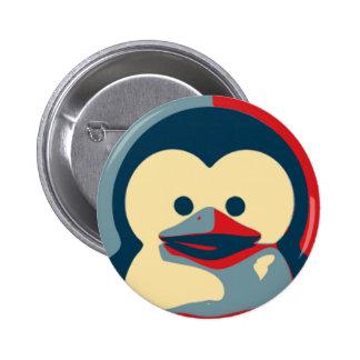 Baby Tux Linux 6 Cm Round Badge